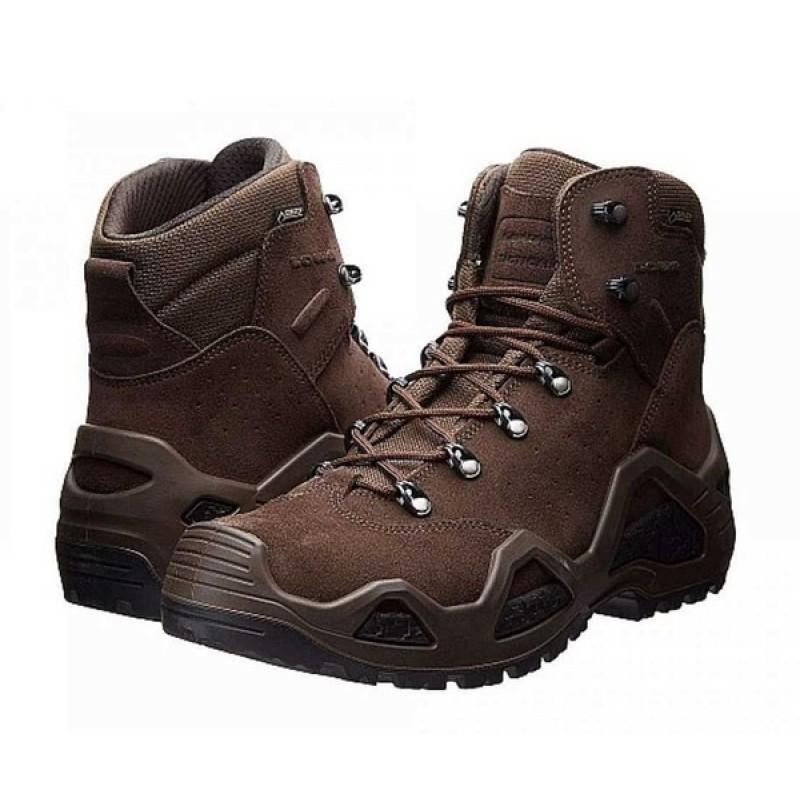 Женские тактические ботинки Lowa Z-6S WS GTX DARK BROWN