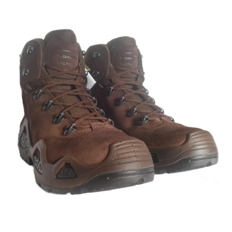 Женские тактические ботинки Lowa Z-6S WS GTX DARK BROWN (фото 3)