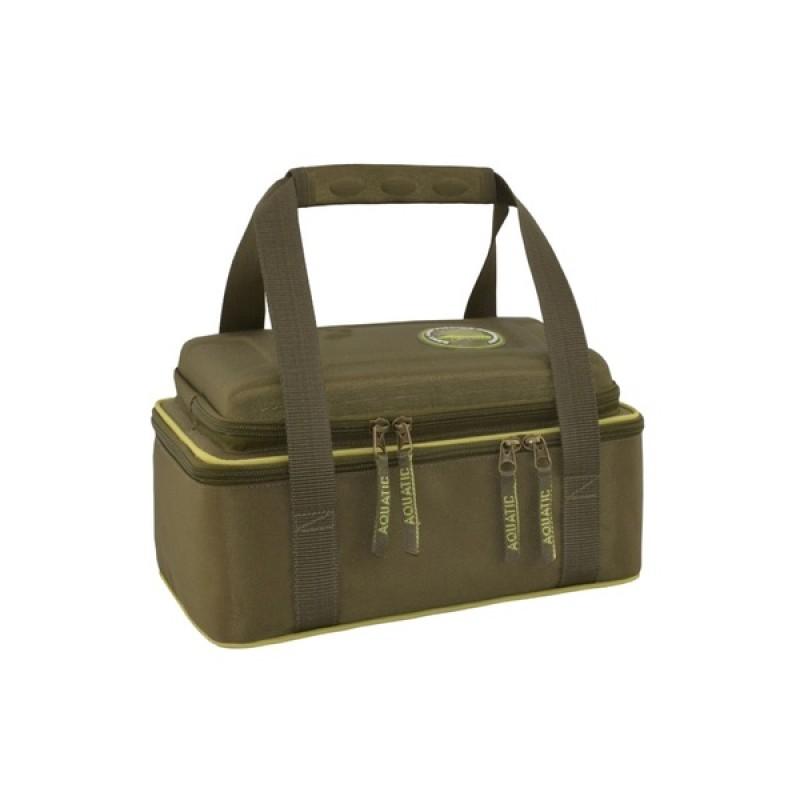 Термо-сумка Aquatic С-42Х с банками 6 шт. (цвет: хаки, размер: 32х23х15 см.) (фото 2)