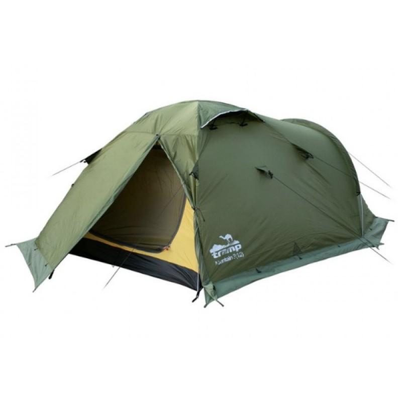Палатка Tramp Mountain 4 (V2) (зеленый) (фото 2)