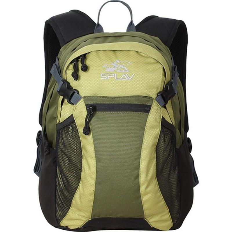 Туристический рюкзак СПЛАВ SPIDER (зеленый) (фото 2)