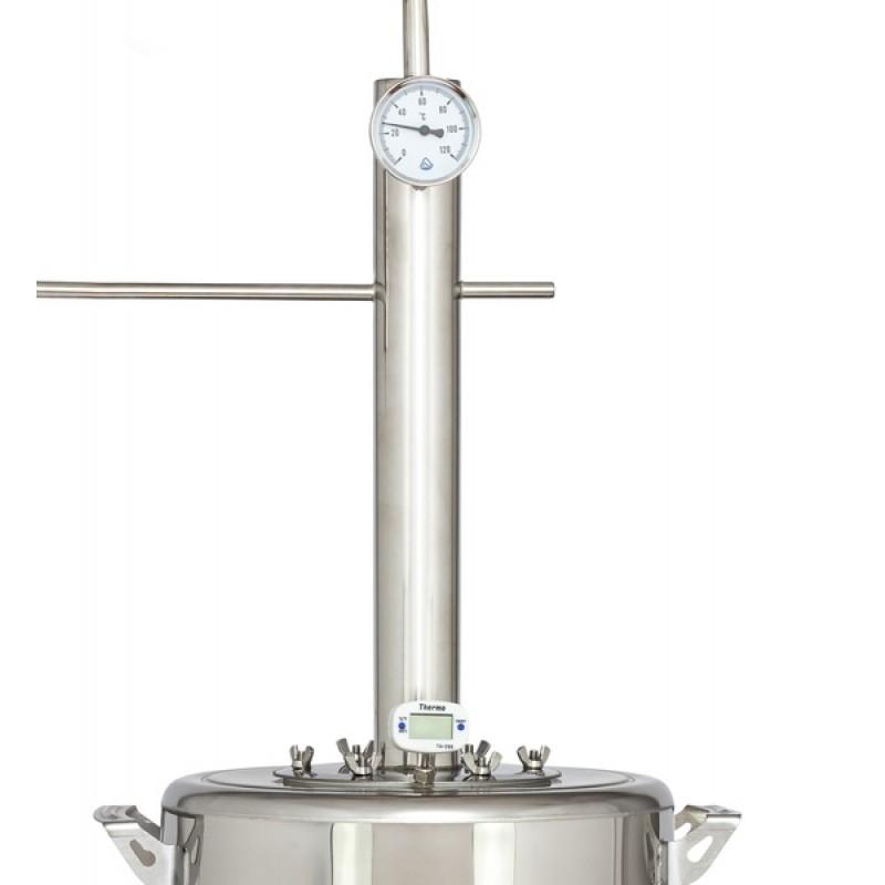 Самогонный аппарат (дистиллятор) ФЕНИКС Элегант ЭКСТРА 25 литров (с теном) (фото 3)