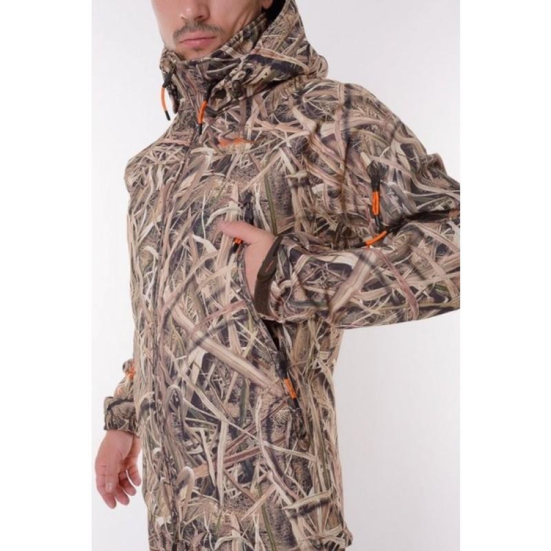 Демисезонный костюм для рыбалки и охоты TRITON PRO -5° (Cофтшелл, Duck Hunter) на флисе (фото 3)