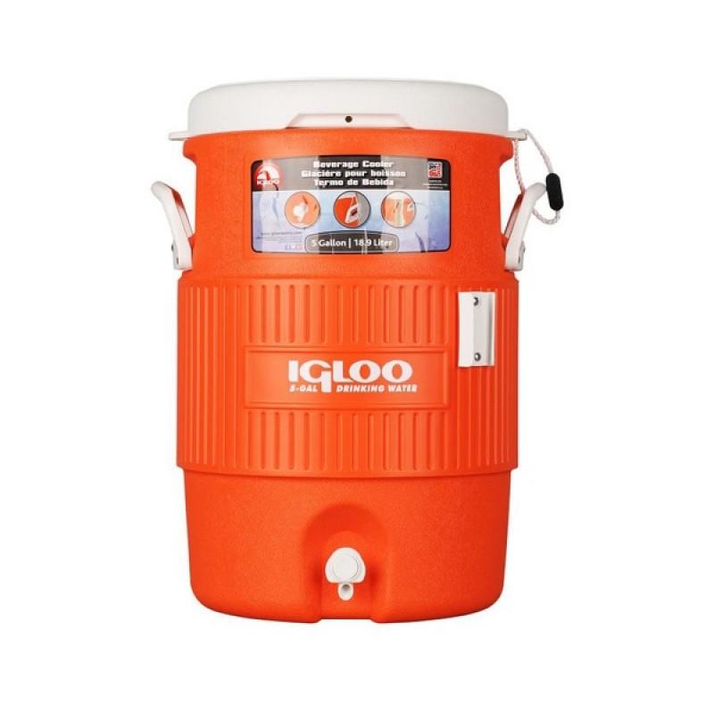 Изотермический контейнер Igloo 5 Gallon Seat Top Orange