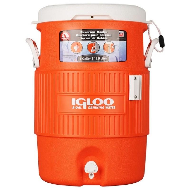 Изотермический контейнер Igloo 5 Gallon Seat Top Orange (фото 3)