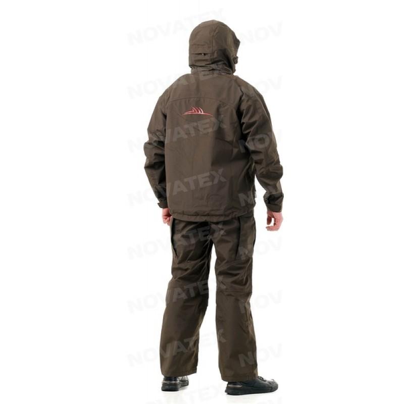 Осенний костюм для рыбалки Фиш Мастер (таслан, темно-зеленый) GRAYLING (фото 3)