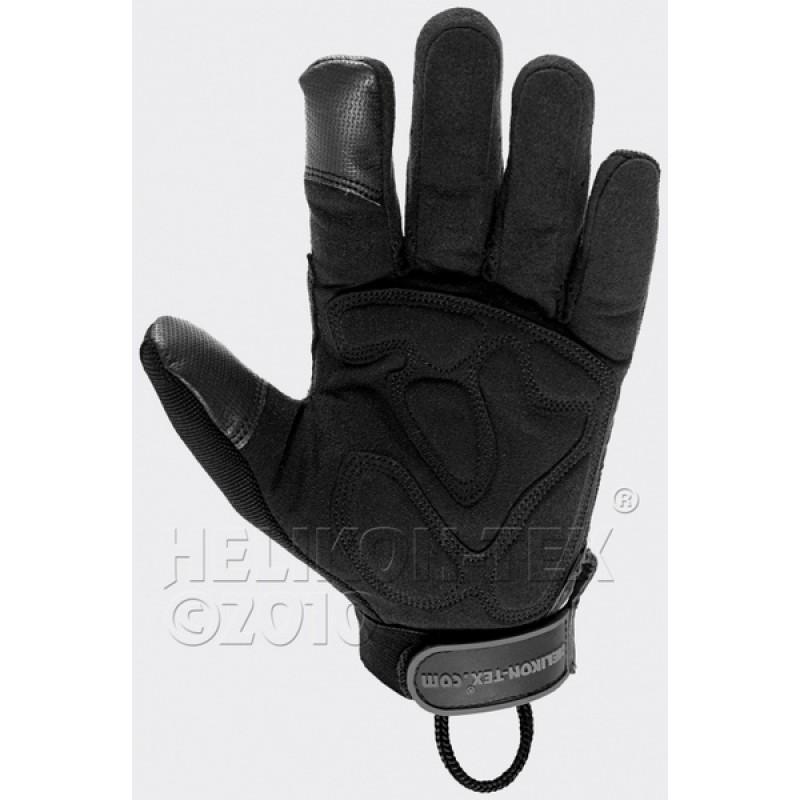 Тактические перчатки Helikon-Tex USM (черные) (фото 2)