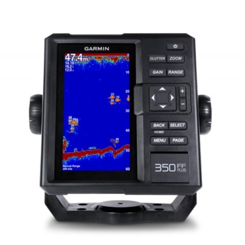 Эхолот Garmin FishFinder 350 Plus с трансдьюсером 77200кГц (010-01709-00)