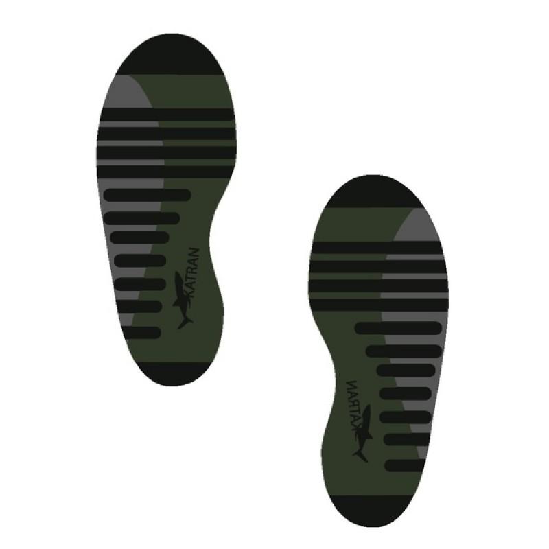 Комплект треккинговых носков Katran Т-107х (хаки), 3шт (фото 3)