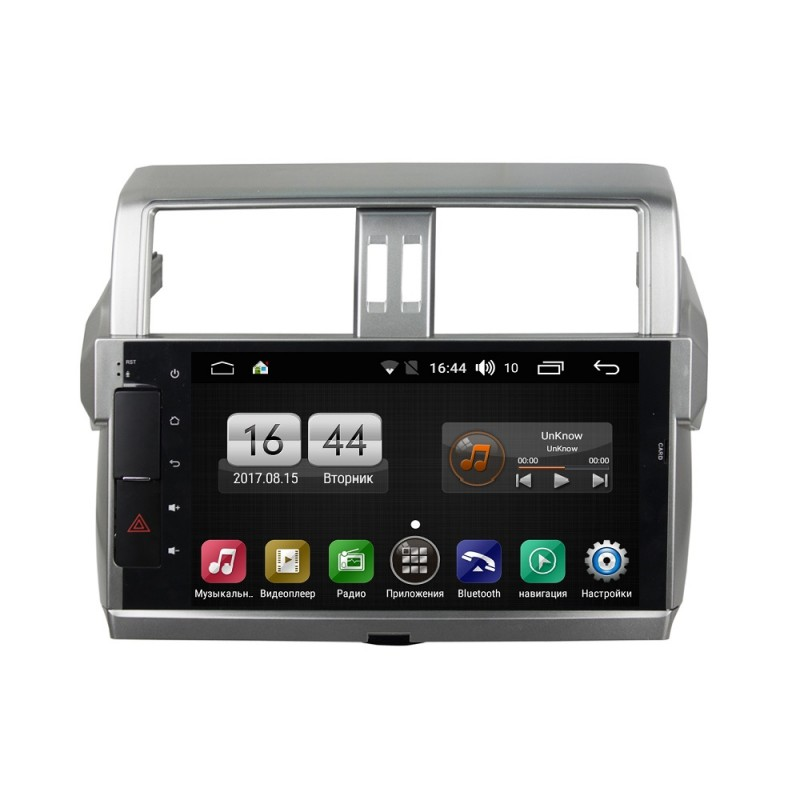 Штатная магнитола FarCar s170 для Toyota PRADO 150 на Android (L531) (+ Камера заднего вида в подарок!)