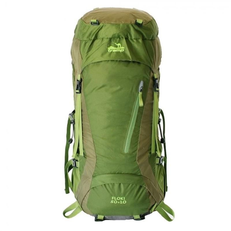 Рюкзак Tramp Floki 50+10 (зеленый)