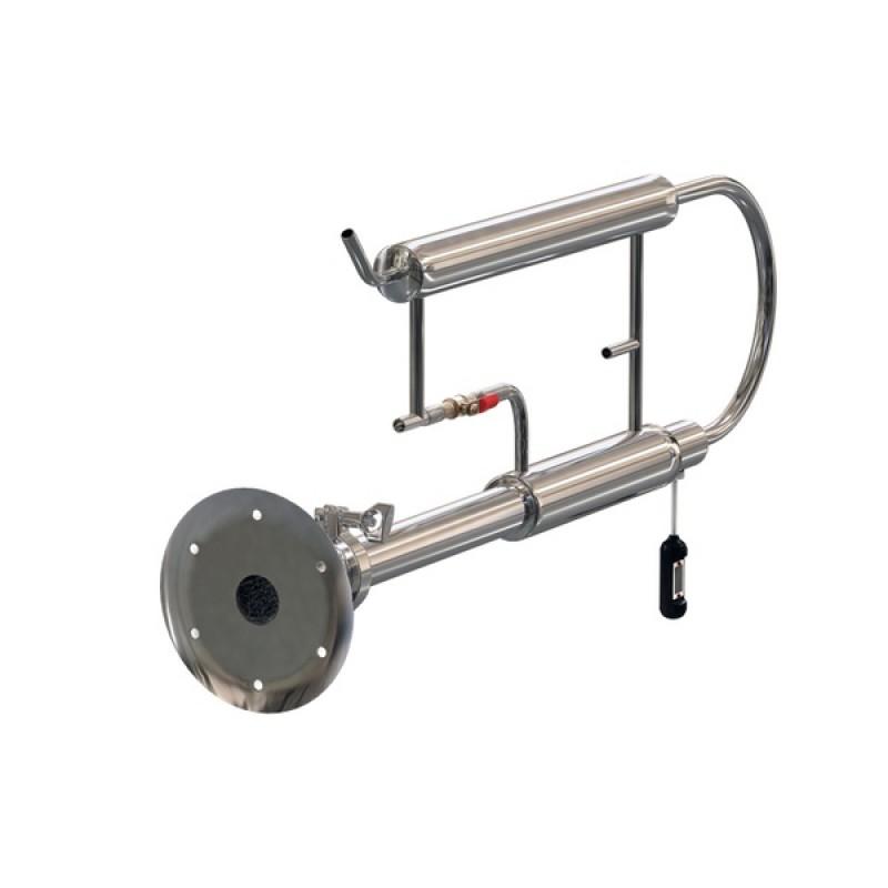 Самогонный аппарат (дистиллятор) ФЕНИКС Зенит (Классический куб с теном) 50 литров (фото 3)