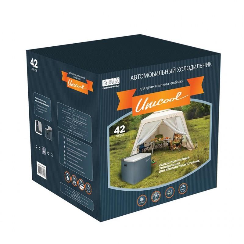 Холодильник автомобильный электрогазовый Camping World Absorption gas refrigerat 42L (+ Пять аккумуляторов холода в подарок!) (фото 3)