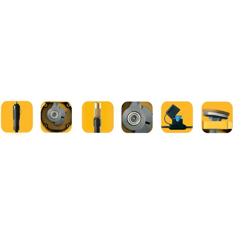 Компрессор автомобильный КАЧОК К90x2C (+ Мешки для колёс в подарок!) (фото 5)