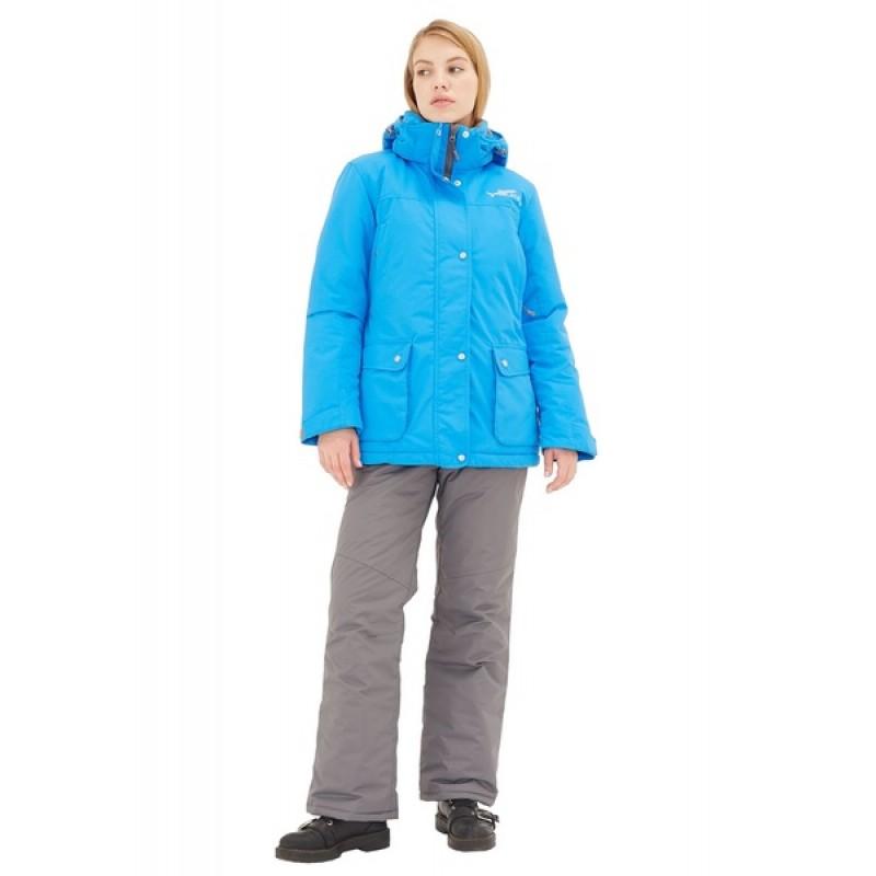 Зимний женский костюм KATRAN Сальвия -35 С (Таслан, Голубой) полукомбинезон