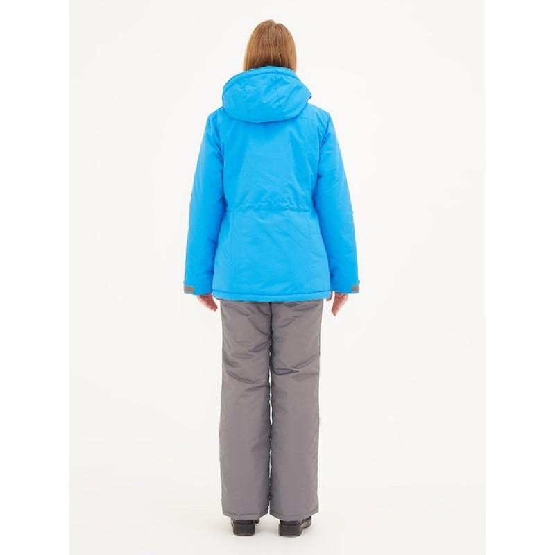 Зимний женский костюм KATRAN Сальвия -35 С (Таслан, Голубой) полукомбинезон (фото 3)