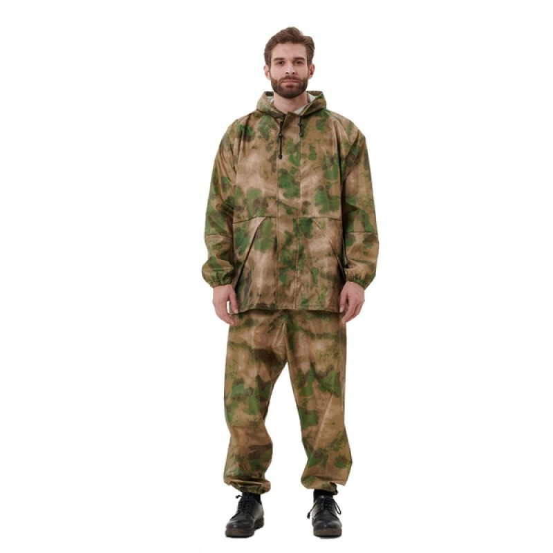 Легкий костюм-дождевик KATRAN ЦИКЛОН (Оксфорд, мох) (фото 2)
