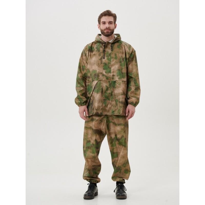 Легкий костюм-дождевик KATRAN ЦИКЛОН (Оксфорд, мох) (фото 3)
