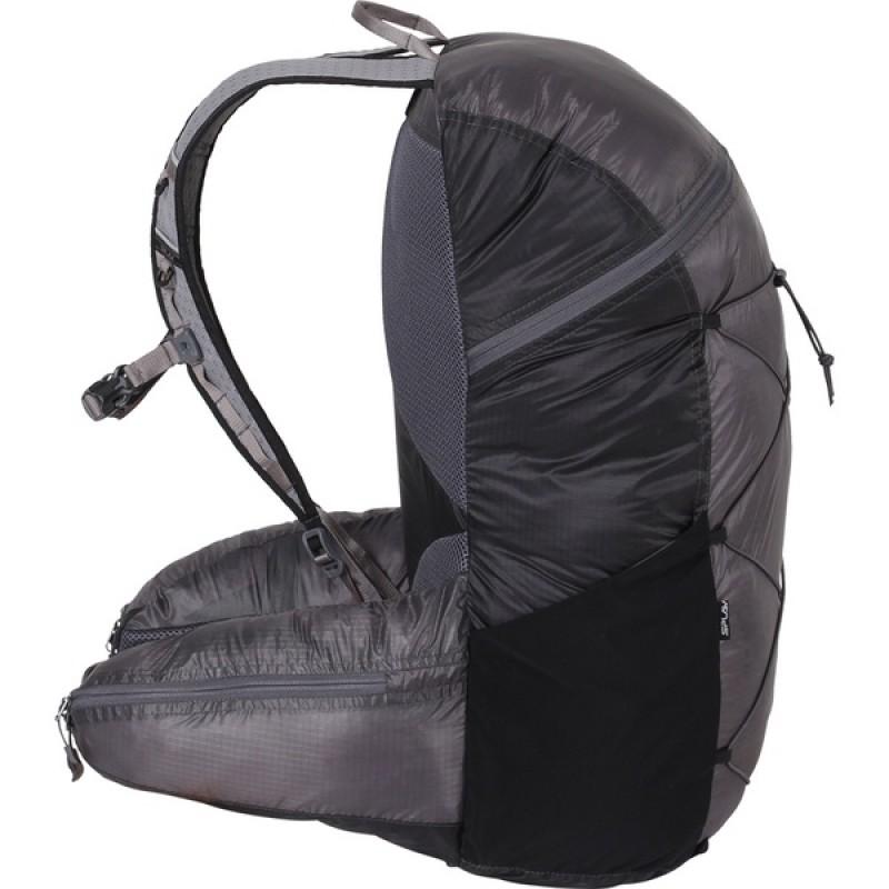 Туристический рюкзак СПЛАВ EASY PACK V.3 SI (черно-серый) (фото 2)
