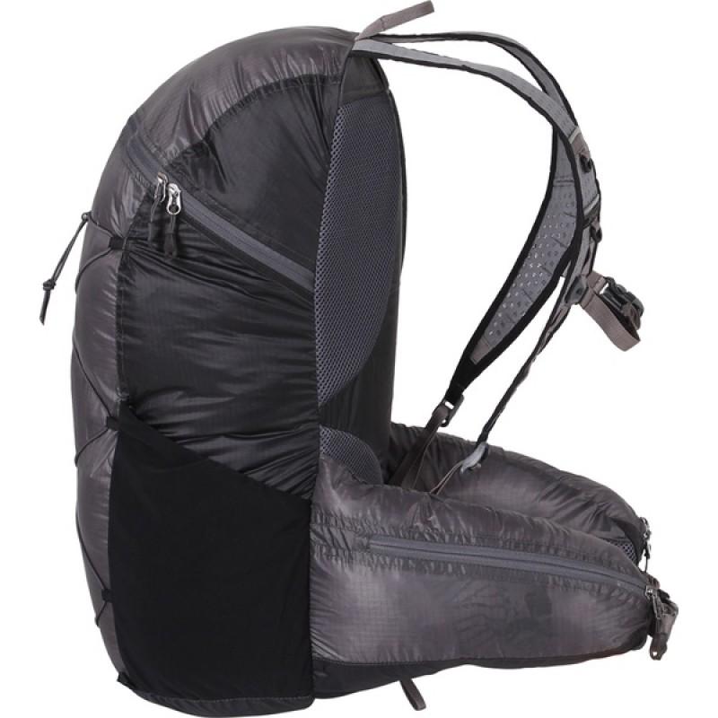 Туристический рюкзак СПЛАВ EASY PACK V.3 SI (черно-серый) (фото 3)