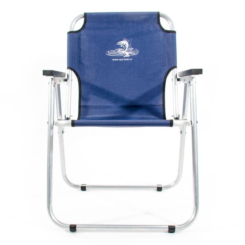 Кресло-шезлонг КЕДР AKS-08 (алюминий, синий) (фото 2)