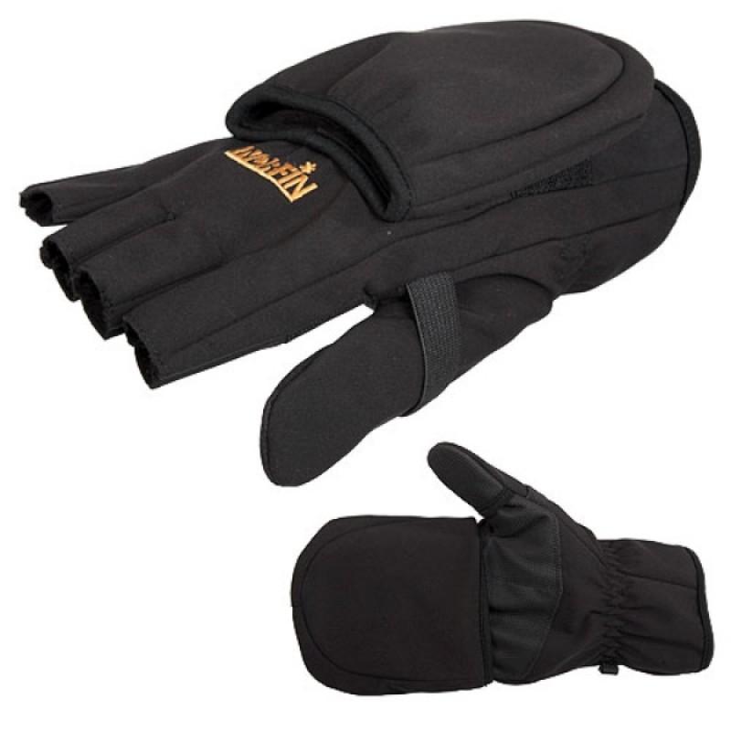 Перчатки-варежки Norfin SOFTSHELL (флис)