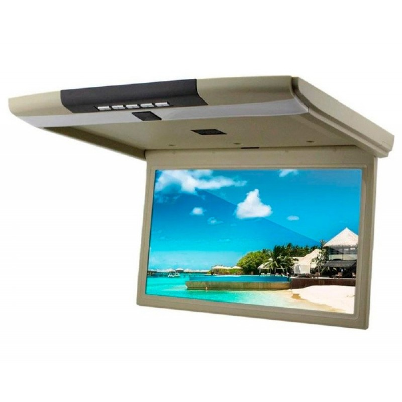 Потолочный монитор для автомобиля Потолочный монитор 15,6 ERGO ER15S бежевый