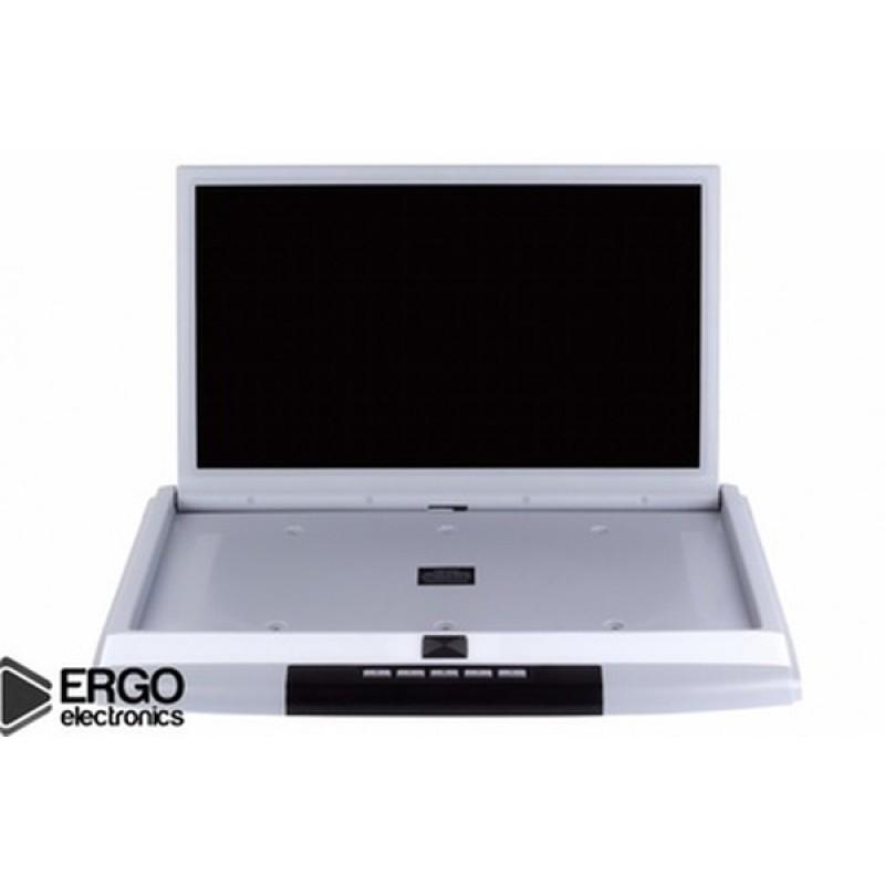 Потолочный монитор для автомобиля Потолочный монитор 15,6 ERGO ER15S бежевый (фото 3)