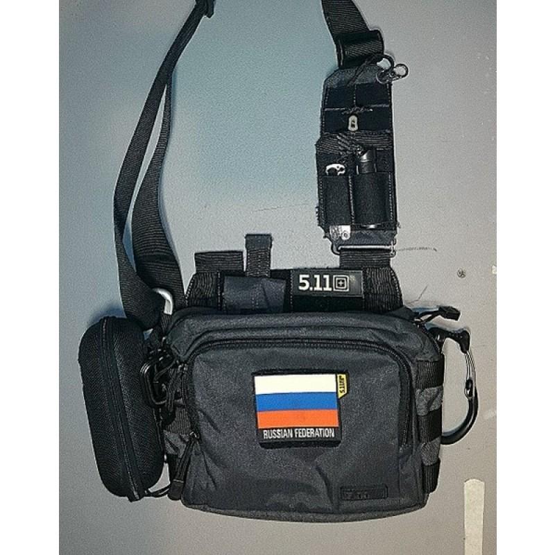 Тактическая сумка 5.11 Tactical 2 BANGER BLAСK (019) (фото 2)