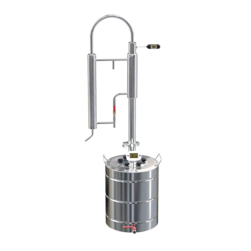 Самогонный аппарат (дистиллятор) ФЕНИКС Зенит (Новый куб) 20 литров + кран (фото 2)
