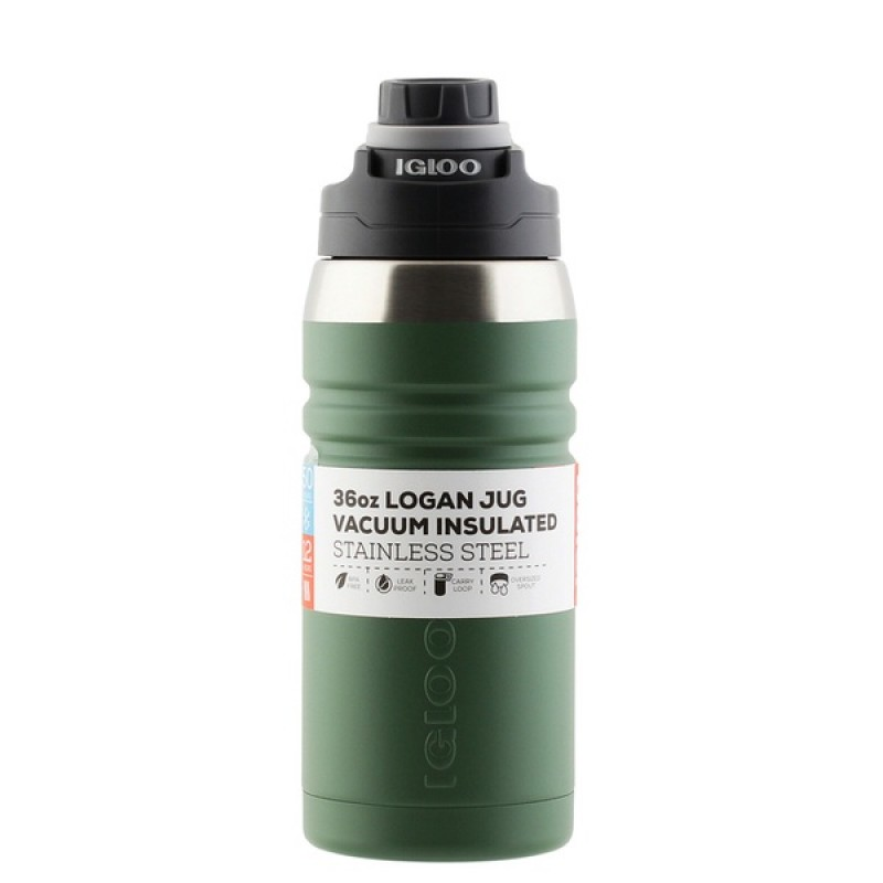 Термос Igloo Logan 36 (1 л) Dark green