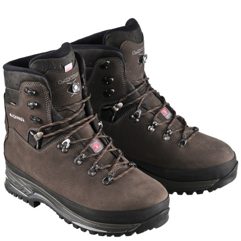 Зимние треккинговые ботинки LOWA ELBRUS GTX Shiefer slate