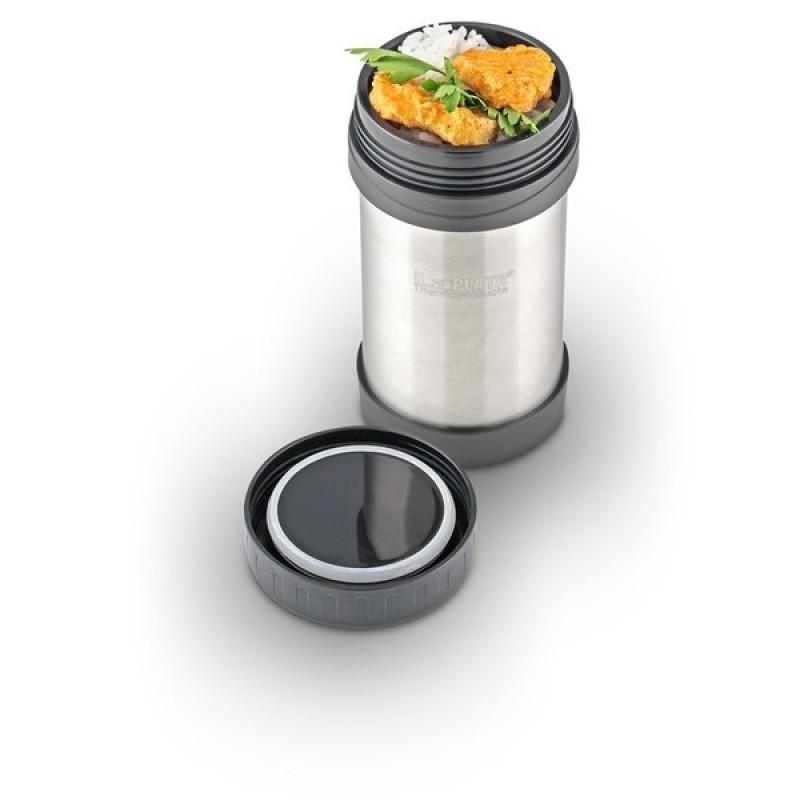 Термос для еды LaPlaya Food Container JMG 0.5L Silver (фото 3)