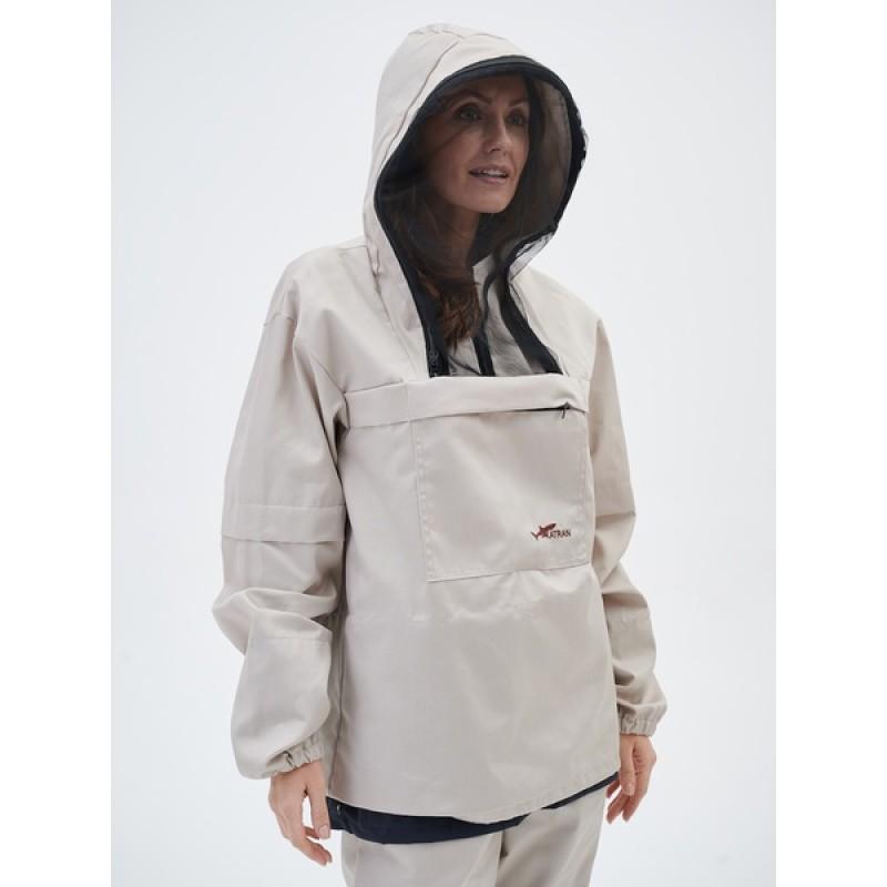 Женский противоэнцефалитный костюм KATRAN СТРАЖ (Твил, бежевый) (фото 3)