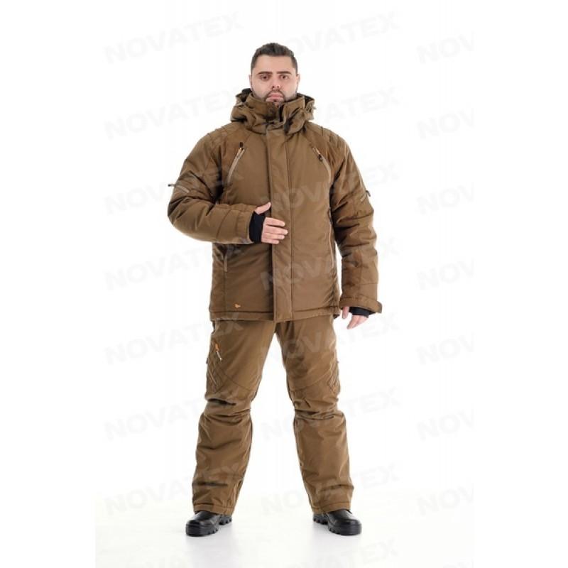 Зимний костюм для охоты «Выстрел» -35° (графф, коричневый) PRIDE (фото 3)