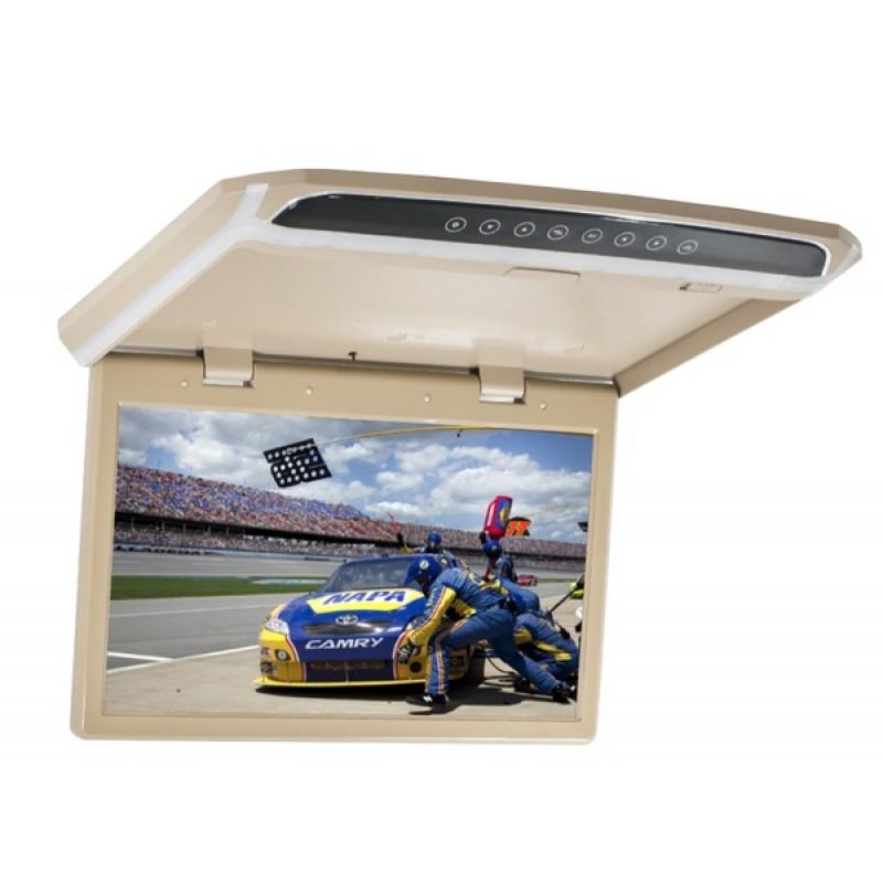 Потолочный монитор для автомобиля Потолочный монитор 15,6 AVEL AVS1507MPP (бежевый)