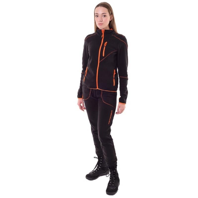 Женский флисовый костюм Тритон РИЧ (Флис, черный)