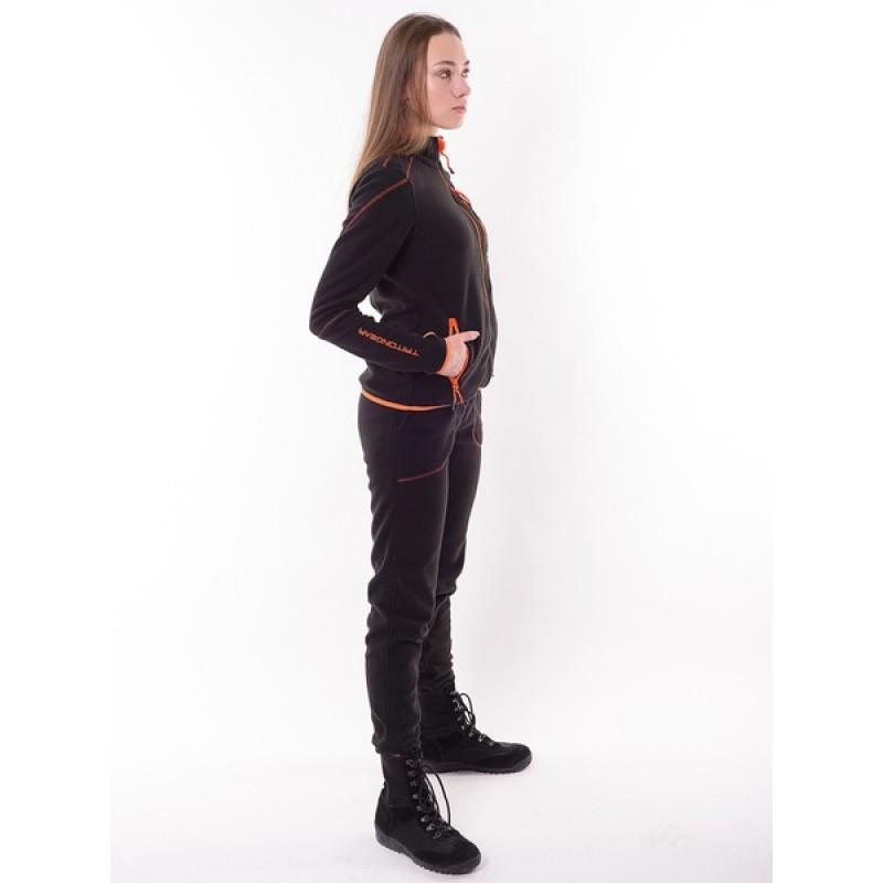 Женский флисовый костюм Тритон РИЧ (Флис, черный) (фото 2)
