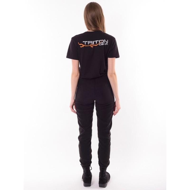 Женский флисовый костюм Тритон РИЧ (Флис, черный) (фото 3)