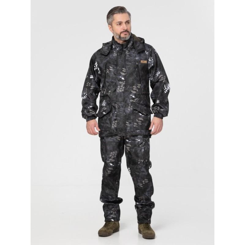 Осенний костюм для охоты и рыбалки KATRAN Такин 0°C (полофлис, рептилия) (фото 2)