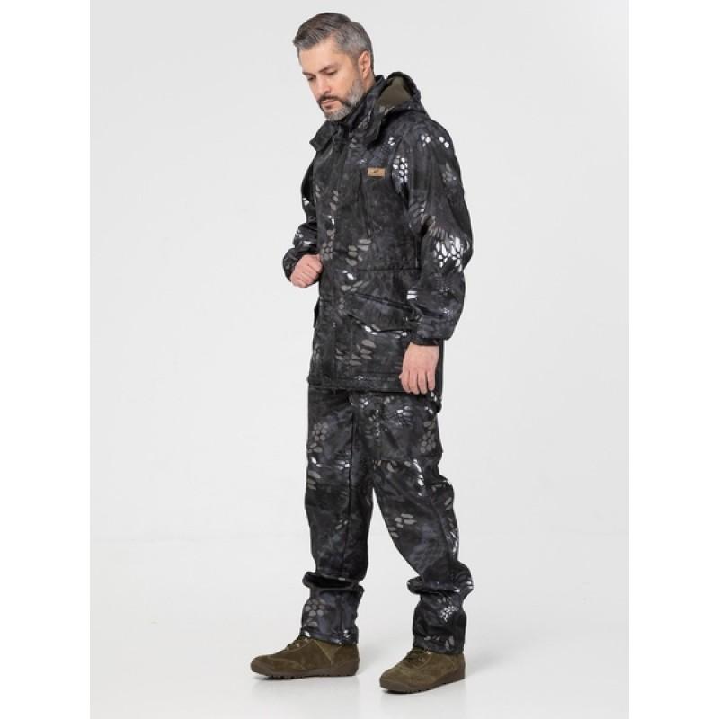 Осенний костюм для охоты и рыбалки KATRAN Такин 0°C (полофлис, рептилия) (фото 3)