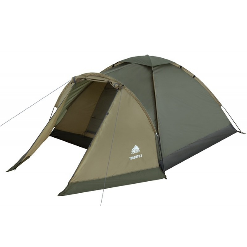 Палатка Jungle Camp (Trek Planet) TORONTO 4 оливковая