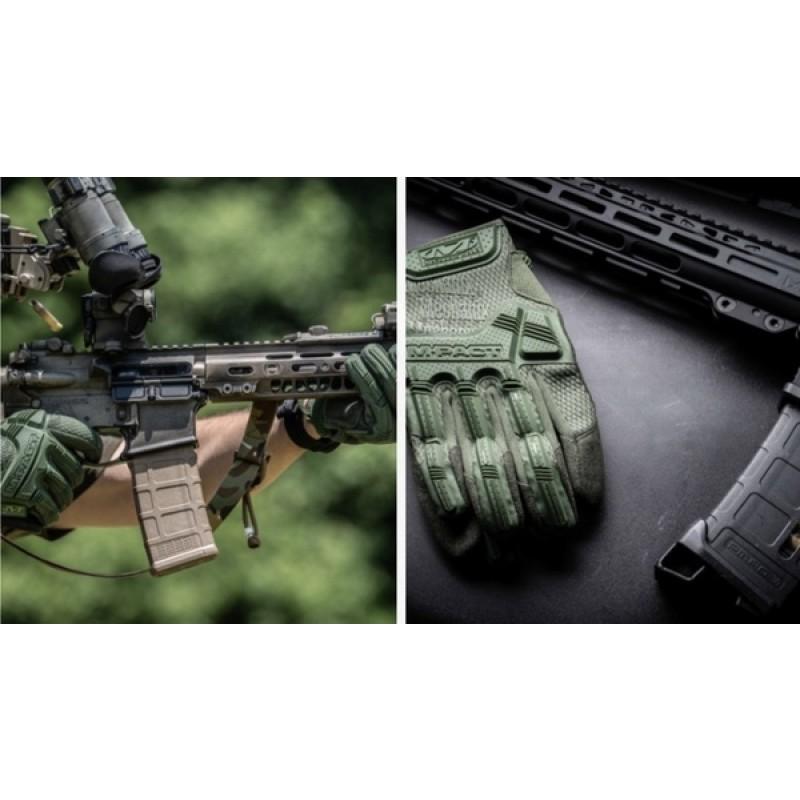 Перчатки Mechanix Wear M-pact Olive Drab MPT-60 (фото 3)
