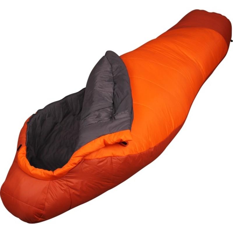 Спальный мешок СПЛАВ Fantasy 340 мод. 2 Primaloft (терракот/оранжевый, левый)