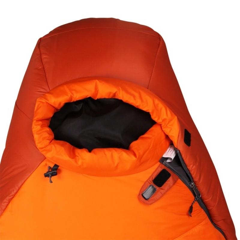 Спальный мешок СПЛАВ Fantasy 340 мод. 2 Primaloft (терракот/оранжевый, левый) (фото 3)