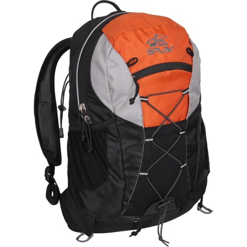 Туристический рюкзак СПЛАВ GELIS (черно-оранжевый)