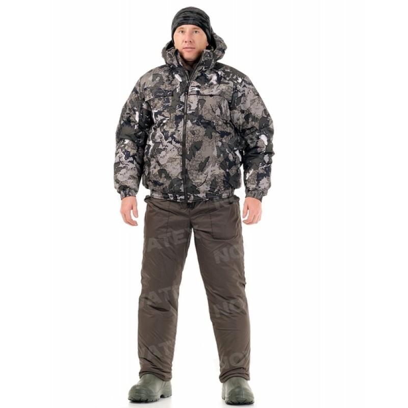 Зимний костюм для охоты и рыбалки «Вепрь» (плащевая, карта) КВЕСТ
