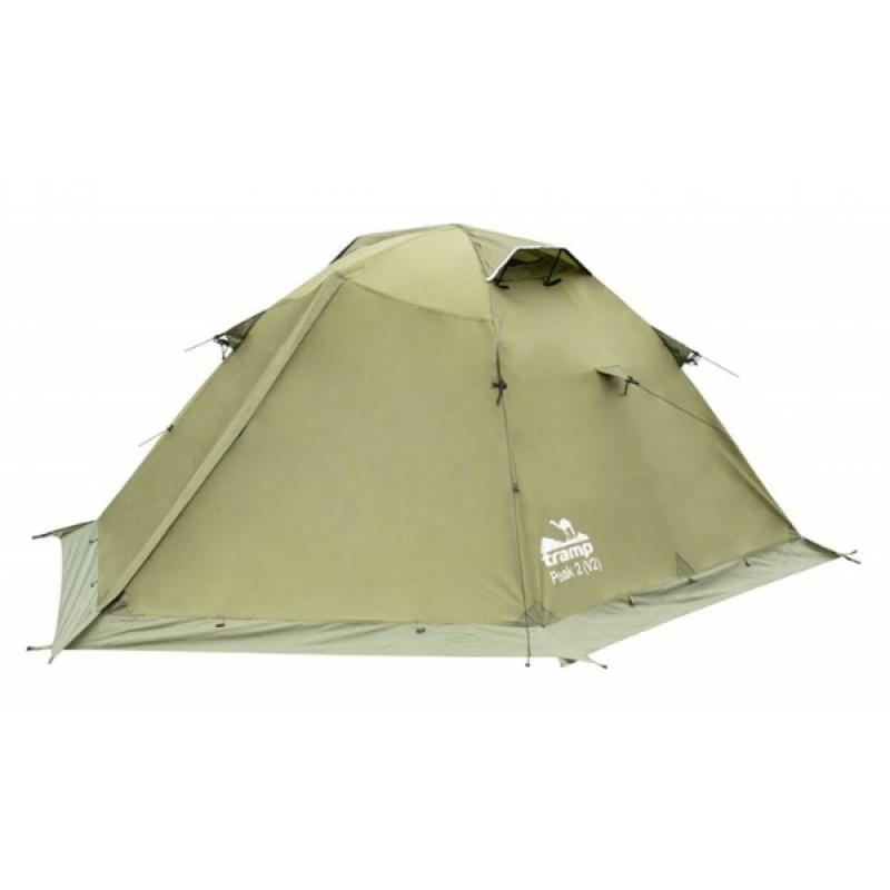 Палатка Tramp Peak 2 (V2) (зеленый)
