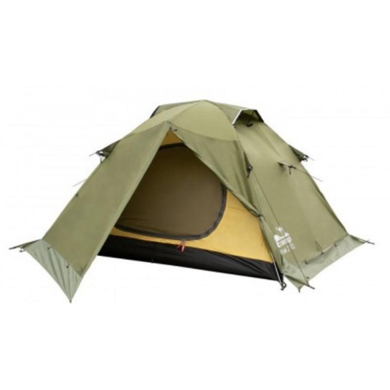 Палатка Tramp Peak 2 (V2) (зеленый) (фото 2)