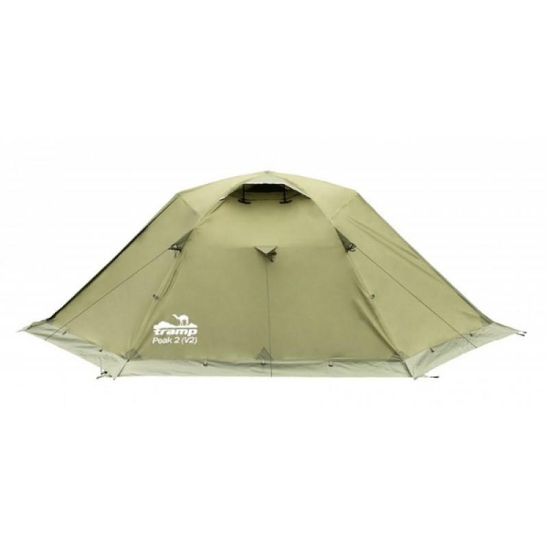 Палатка Tramp Peak 2 (V2) (зеленый) (фото 3)